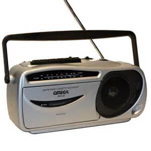 Registratore a cassette con radio