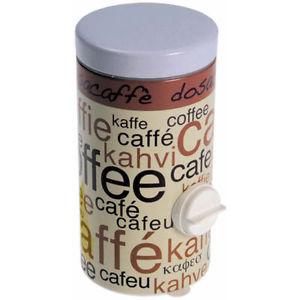 Dosa caffe\' in metallo serigrafato
