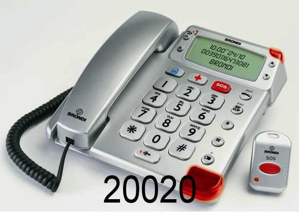 Telefono Super bravo plus