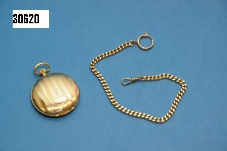 Catenella per orologio da taschino dorata