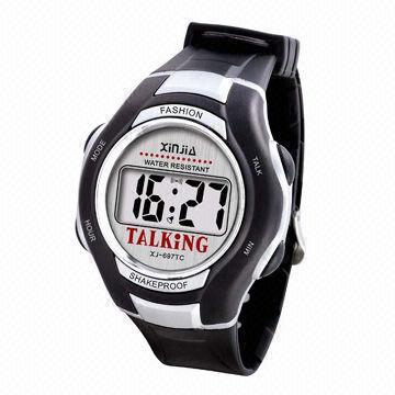 Orologio parlante mod. Fashion