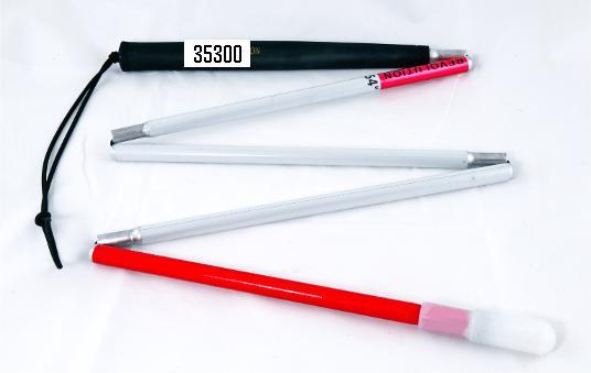Nuovo bastone bianco pieghevole in alluminio 1,01M