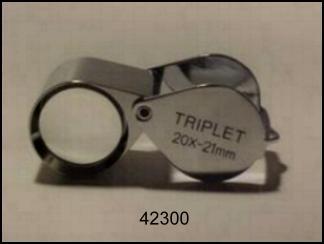 Lente di precisione 20X21MM