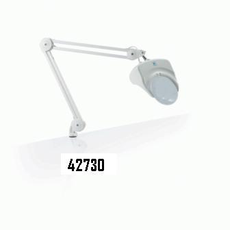 Lampada con lente ingrandente 1,75X bianca